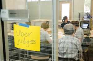 Uber Judge room